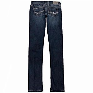 BKE Stella 24X32.5 Skinny Dark Stretch Blue Jeans